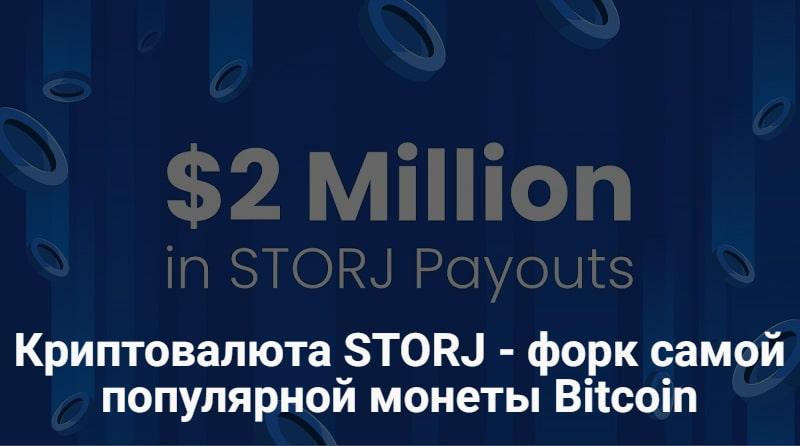Криптовалюта Storj
