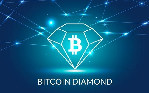 Логотип Bitcoin Diamond